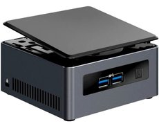 Платформа Intel NUC7I3DNH2E Dawson Canyon NUC Kit OEM