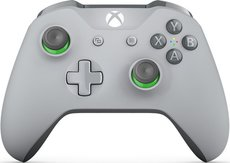 Геймпад Microsoft Xbox One Wireless Controller Grey/Green (WL3-00061)