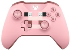 Геймпад Microsoft Xbox One Wireless Controller Minecraft Pig (WL3-00053)