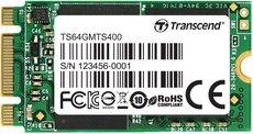 Твердотельный накопитель 64Gb SSD Transcend MTS400 (TS64GMTS400S)