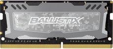 Оперативная память 8Gb DDR4 2400Mhz Crucial Ballistix Sport LT SO-DIMM (BLS8G4S240FSDK)