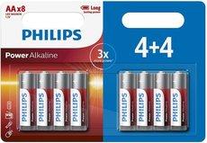 Батарейка Philips Power Alkaline (1.5V, AA, 8 шт)