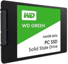 Твердотельный накопитель 120Gb SSD Western Digital Green (WDS120G2G0A)