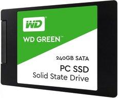 Твердотельный накопитель 240Gb SSD Western Digital Green (WDS240G2G0A)
