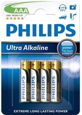 Батарейка Philips Ultra Alkaline (AAA, 4 шт)