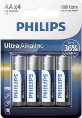 Батарейка Philips Ultra Alkaline (AA, 4 шт)