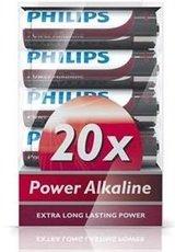 Батарейка Philips Power Alkaline (AA, 20 шт)