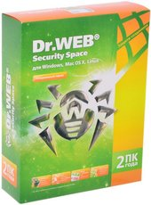 Dr.Web Security Space (BHW-B-24M-2-A3)