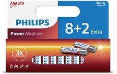 Батарейка Philips Power Alkaline (AAA, 10 шт)
