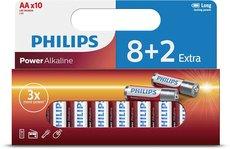 Батарейка Philips Power Alkaline (AA, 10 шт)