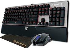 Клавиатура + мышь GAMDIAS HERMESE1 + DEMETER E2 + NYX E1 Black Switches