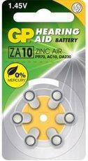 Батарейка GP ZA10 (PR70, 6 шт)
