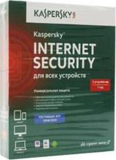 Kaspersky Internet Security Multi-Device Russian. 2-Device 1 year Base Box (KL1941RBBFS)