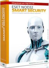 ESET NOD32 Smart Security, на 1 год на 3ПК (NOD32-ESS-RN(BOX3)-1-1)