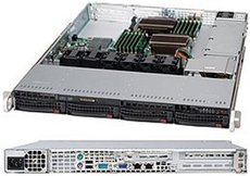Серверный корпус SuperMicro CSE-815TQC-605WB