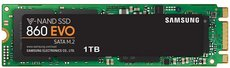 Твердотельный накопитель 1Tb SSD Samsung 860 EVO Series (MZ-N6E1T0BW)