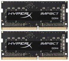 Оперативная память 16Gb DDR4 2666MHz Kingston HyperX Impact SO-DIMM (HX426S15IB2K2/16) (2x8Gb KIT)