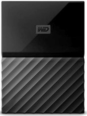 Внешний жесткий диск 2Tb Western Digital My Passport Black (WDBLHR0020BBK)
