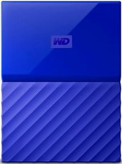 Внешний жесткий диск 2Tb Western Digital My Passport Blue (WDBLHR0020BBL)
