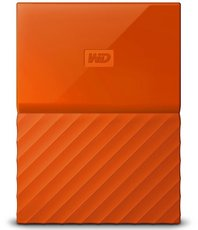 Внешний жесткий диск 2Tb Western Digital My Passport Orange (WDBLHR0020BOR)
