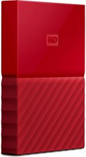 Внешний жесткий диск 2Tb Western Digital My Passport Red (WDBLHR0020BRD)
