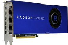 Профессиональная видеокарта AMD Radeon Pro SSG VEGA ATI PCI-E 16384Mb (100-506014)