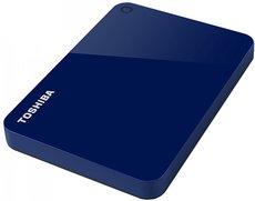 Внешний жесткий диск 1Tb Toshiba Canvio Advance Blue (HDTC910EL3AA)