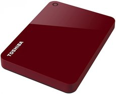 Внешний жесткий диск 2Tb Toshiba Canvio Advance Red (HDTC920ER3AA)