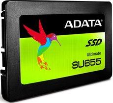 Твердотельный накопитель 240Gb SSD ADATA Ultimate SU655 (ASU655SS-240GT-C)