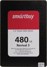 Твердотельный накопитель 480Gb SSD SmartBuy Revival 3 (SB480GB-RVVL3-25SAT3)