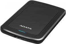 Внешний жесткий диск 2Tb ADATA HV300 Black (AHV300-2TU31-CBK)