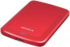 Внешний жесткий диск 5Tb ADATA HV300 Red (AHV300-5TU31-CRD)