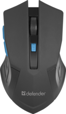 Мышь Defender Accura MM-275 Black/Blue (52275)
