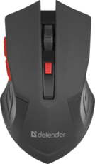 Мышь Defender Accura MM-275 Black/Red (52276)