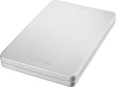 Внешний жесткий диск 1Tb Toshiba Canvio Alu Silver (HDTH310ES3AB)