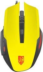 Мышь Jet.A OM-U54 LED Yellow