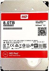 Жесткий диск 8Tb SATA-III Western Digital Red NAS (WD80EFAX)