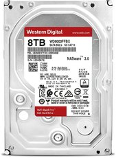 Жесткий диск 8Tb SATA-III Western Digital Red Pro (WD8003FFBX)