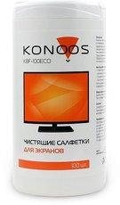 Konoos KBF-100ECO салфетки для ЖК-экрана, 100шт