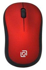 Мышь Oklick 655MW Black/Red
