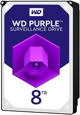 Жесткий диск 8Tb HDD SATA-III Western Digital Purple (WD81PURZ)