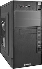 Корпус Exegate QA-411 350W Black