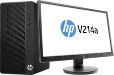 Настольный компьютер HP Desktop Pro MT Bundle + 21' монитор V214a (4CZ45EA)