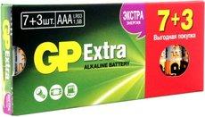 Батарейка GP 24AX Extra Alkaline (AAA, 10 шт)