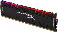 Оперативная память 8Gb DDR4 3200MHz Kingston HyperX Predator RGB (HX432C16PB3A/8)