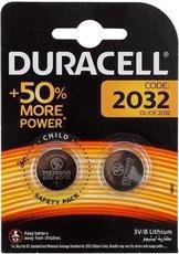 Батарейка Duracell (CR2032, 2 шт)