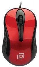 Мышь Oklick 385M Black/Red