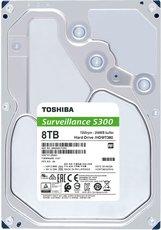 Жесткий диск 8Tb SATA-III Toshiba S300 Surveillance (HDWT380UZSVA)