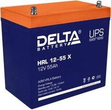 Аккумуляторная батарея Delta HRL12-55X 12V/55Ah