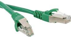 Патч-корд Hyperline PC-LPM-SFTP-RJ45-RJ45-C6-0.5M-LSZH-GN